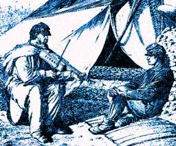 Civil War period playing