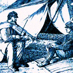 Civil War period playing
